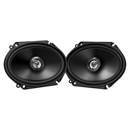 JVC CS-DR6820 300W Peak (45W RMS) 6x8 2-Way Factory Upgrade Coaxial Speakers - Pair