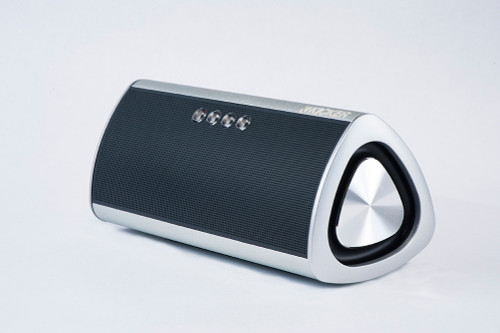 Kicker KPM Bluetooth wireless speaker - Silver