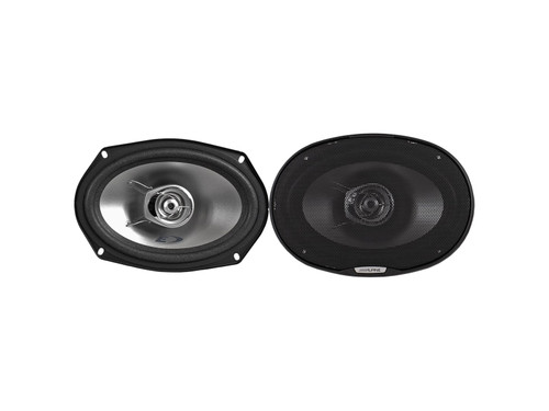Alpine SXE-6925S 2-way 6x9 coaxial speakers