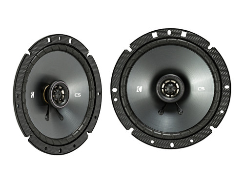 Kicker CSC 6.75-INCH (165mm) COAXIAL SPEAKERS, 4-OHM