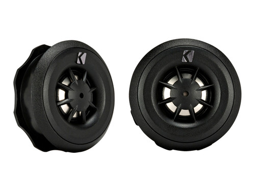 Kicker CST20 .75 INCH (20mm) TWEETER/CROSSOVER SYSTEM, 4-OHM, ROHS COMPLIANT