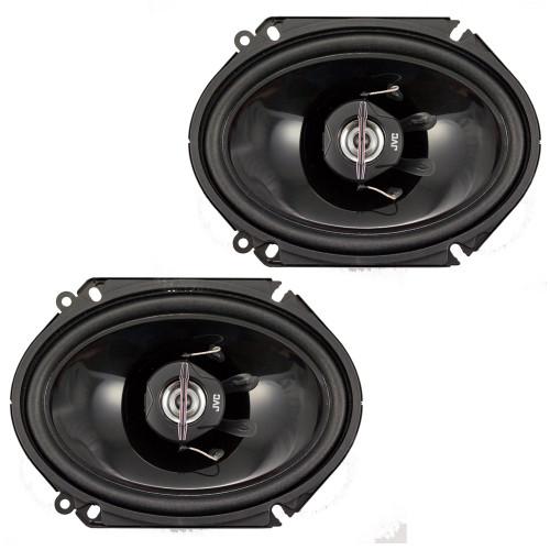 """JVC CSJ6820 250W 6x8"""" 2-Way J Series Coaxial Car Speakers"""
