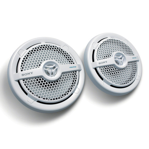 Sony XS-MP1621 6.5 in (16 cm) 2-Way Coaxial Marine Speaker (Pair)