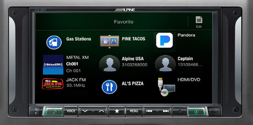 Alpine i207-WRA 7-Inch Restyle Dash System with Apple CarPlay for Jeep Wrangler 2007-2017