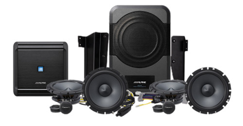 Alpine PSS-21WRA Add-On Sound System for Jeep Wrangler (2015-Up)