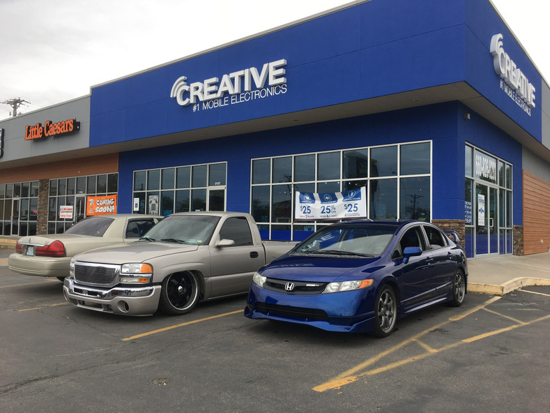Creative Audio's Four Store Show UR Ride day!