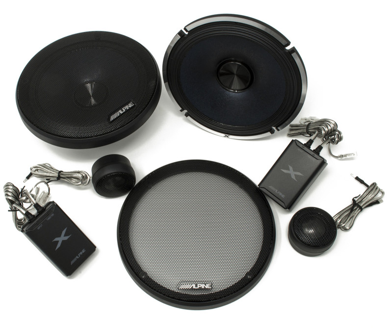 Alpine X-Series Speakers - Now Shipping