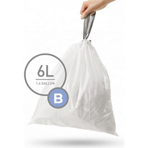 simplehuman SureFit Perfect Fit Bin Liners Size B