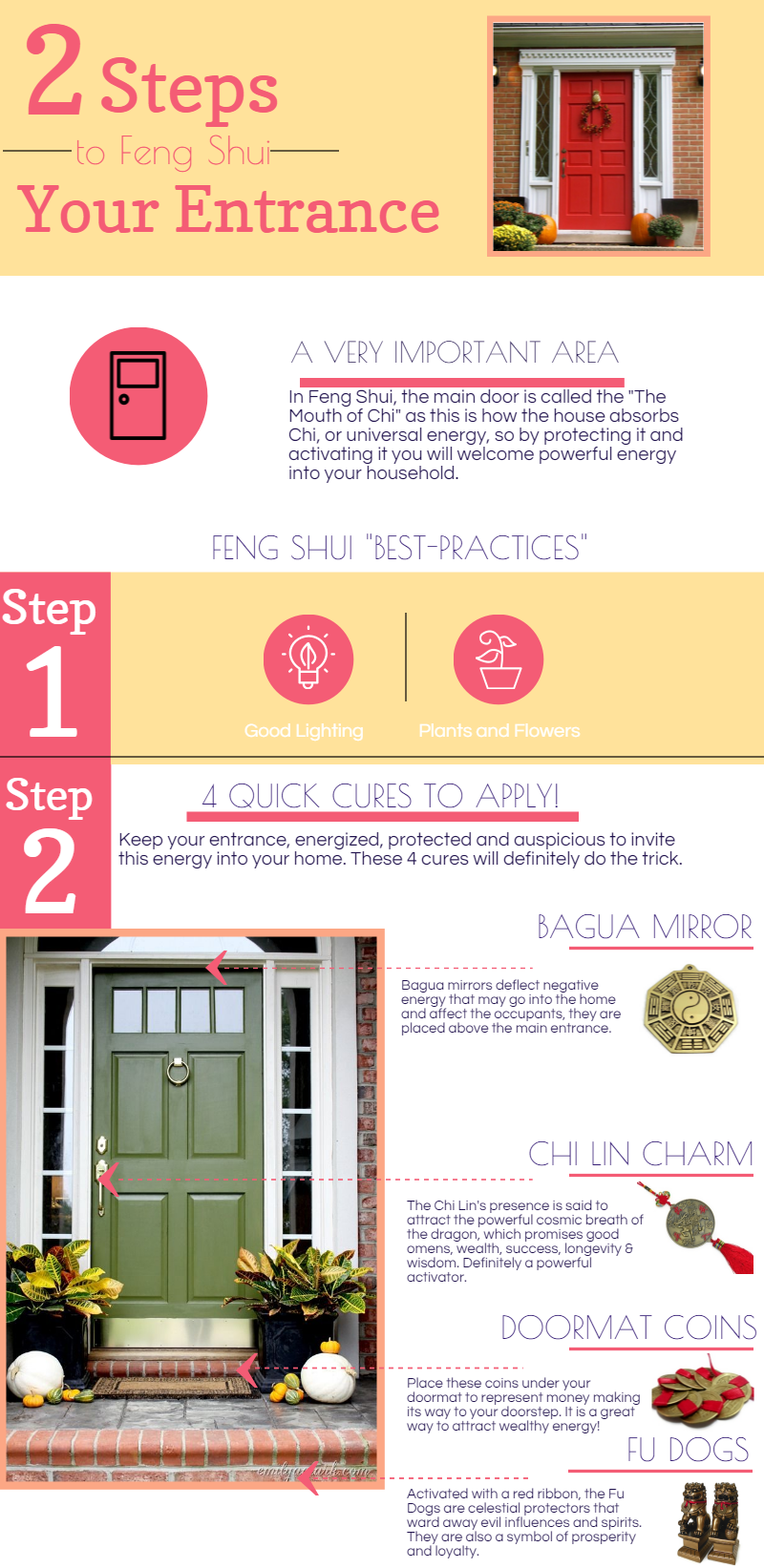 2 Steps To Activate Your Entrance Quickly Unique Feng Shui