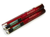 Amber Incense 20 Sticks. Rolled in India
