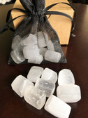 Selenite stones help you sleep