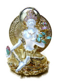 Bejeweled White Tara for Fertility