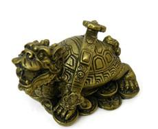 Feng Shui Dragon Turtle with Ruyi