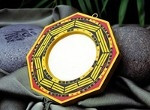 After cleansing, protect your home placing a bagua mirror