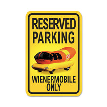 """Reserved Parking"" Sign"