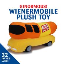 Wienermobile Plush Toy
