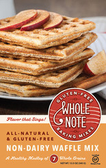 Whole Note Non-Dairy Waffle Mix