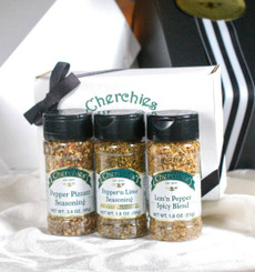 Cherchies Pepper Lover's Seasoning Trio Collection