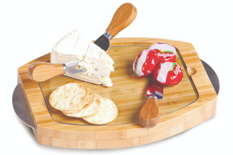 NEW! Oak & Olive Cambria Bamboo Cheese Board