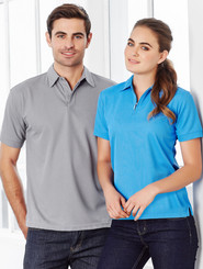 Mens & Ladies Matching Micro Waffle Polo