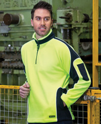 Arm Panel Hi Vis Polar Fleece