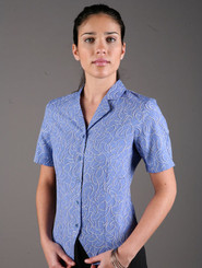 LSJ Freedom Breeze Blue/Navy Fitted Shirt