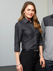 Ladies Biz Collection Hemingway 3/4 Sleeve Shirt