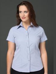 LSJ Bourke Street Stripe Shirt - Wisteria/Charcoal