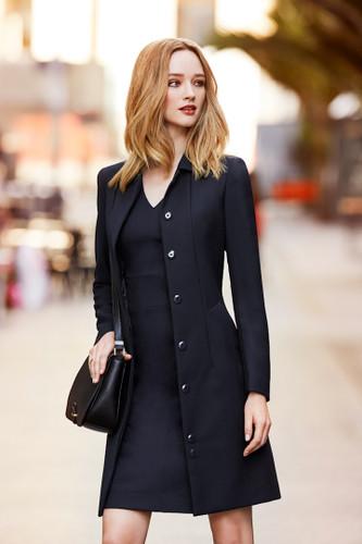 Ladies Lined Overcoat