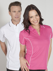 JB's Mens & Ladies Podium Piping S/S Polo