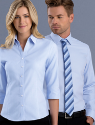 Mens & Ladies Pinpoint Oxford Shirt