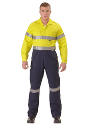 2 Tone Taped Lightweight Coveralls