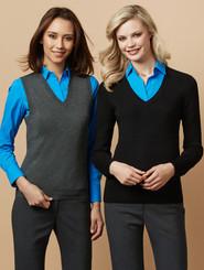 Biz Collection V-Neck Ladies Pullover