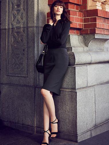 Bandless Pencil Skirt