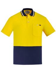 Unisex 100% Hi Vis Cotton Polo