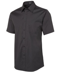 JB's Wear Urban S/S Charcoal Poplin Shirt