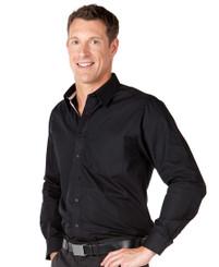 JB's Wear Long Sleeved Contrast Placket Shirt