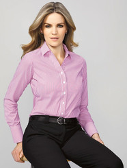 Vermont Ladies Long Sleeve Shirt (BC40210)