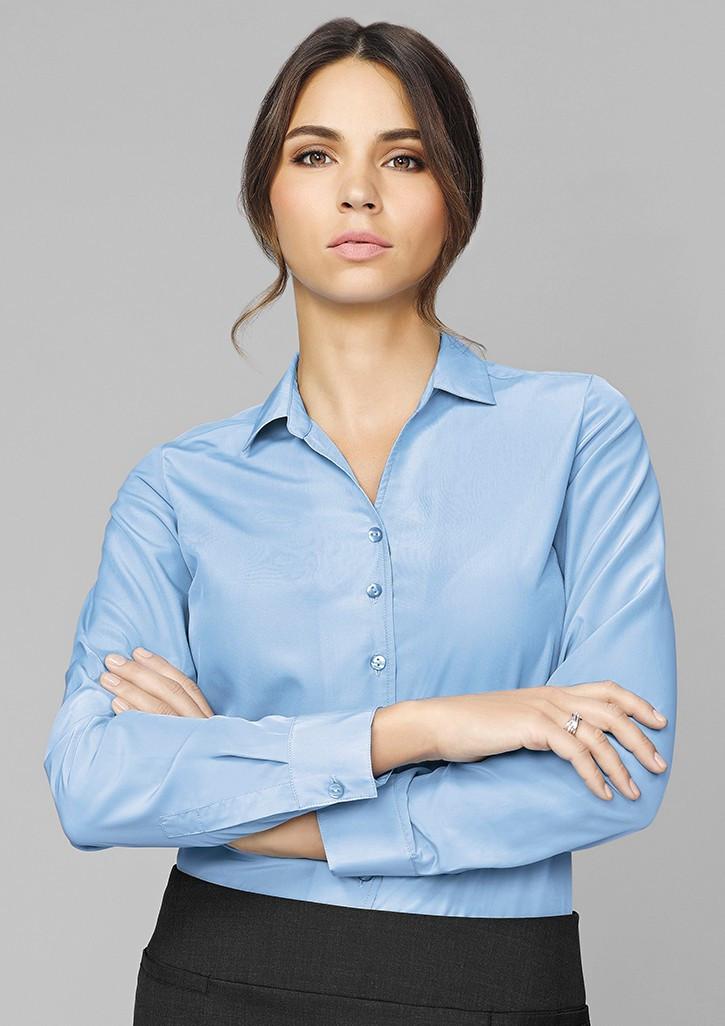 f6f1e7e7963 Solanda Ladies Plain Long Sleeve Shirt