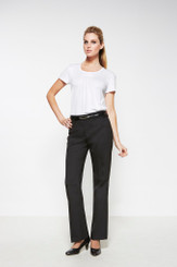 Ladies Relaxed Fit Wool Blend Pant