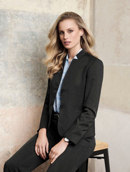 Jacket with Reverse Lapel