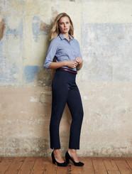 Ladies Slim Fit Cool Stretch Plain Pant