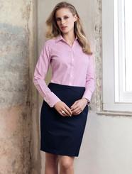 Ladies Chevron Plain Skirt