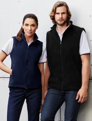Biz Collection Plain Microfleece Ladies Vest