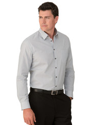 Mens Pinfeather Long Sleeved Shirt