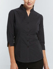 Gloweave Ladies Casual Rib 3/4 Sleeve Shirt