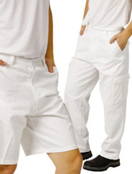 White Drill Painters Trousers