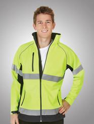 Hi Vis Soft Shell D/N Jacket