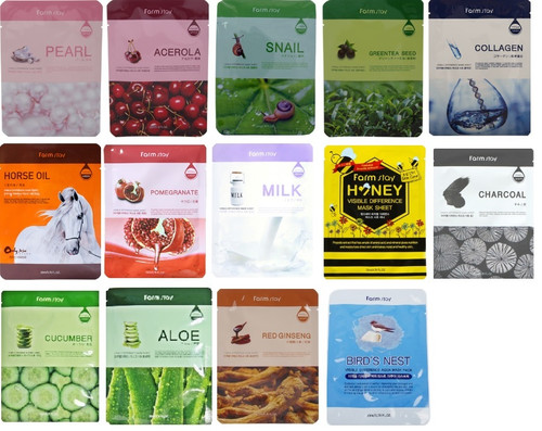 Framstay Visible Difference Facial Sheet Mask Pack