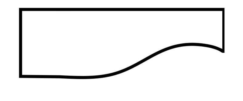 Cornice Style: Asymmetrical #1